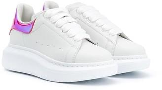 ALEXANDER MCQUEEN KIDS Contrast Counter Sneakers