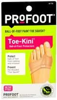 ProFoot Toe-Kini Ball-of-Foot Protectors 5-9