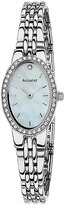 Accurist Ladies' Oval Dial Stainless Steel Bracelet Watch