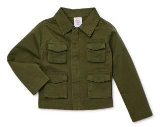 Wonder Nation Baby & Toddler Boys Lightweight Utility Jacket (Sizes 0M-5T)