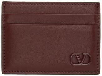 Valentino Red Garavani VLogo Card Holder