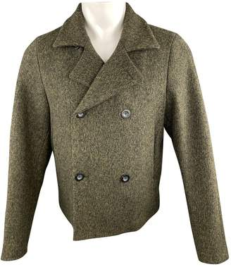 Jil Sander Green Wool Jackets