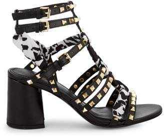 Ash Juna Studded Strappy Sandals