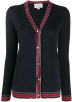 Gucci Merino wool knitted cardigan