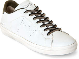 Leather Crown LC 06 Leather Low-Top Sneakers