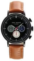 Ted Baker Men's Chronograph Leather Strap Watch