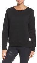 Reebok Women's Quilted Crew Sweatshirt
