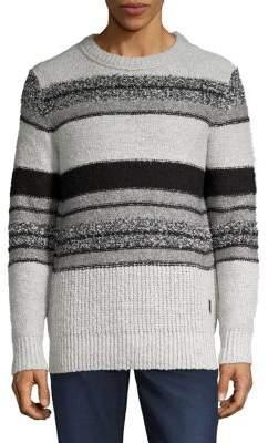 Jack and Jones Striped Crewneck Sweater