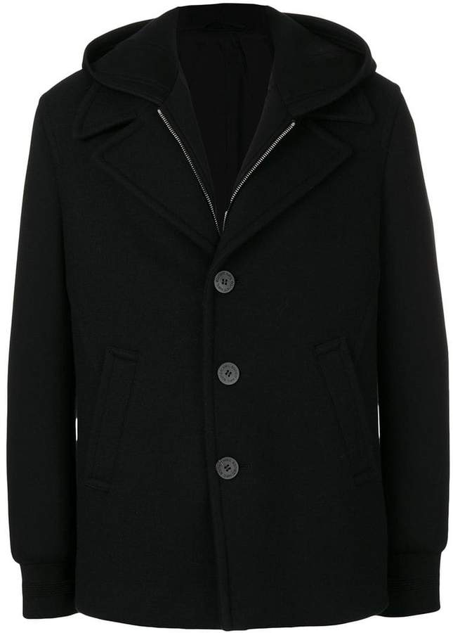 Neil Barrett hooded coat