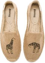 Soludos Giraffe Smoking Slipper