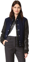 OAK Double Front Varsity Jacket