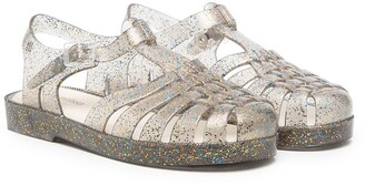 Mini Melissa Mel Possession transparent sandals