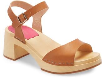 Swedish Hasbeens Basic Platform Sandal