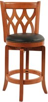 Boraam 40224 Cathedral Swivel Stool, 24-Inch