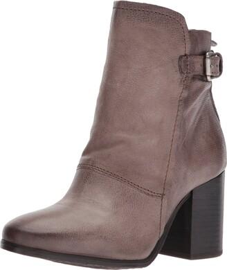 Miz Mooz Women's Noel Boot Grey 38 M EU (7.5-8 US)