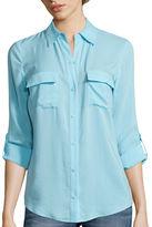 A.N.A a.n.a Long-Sleeve Two Pocket Shirt - Tall