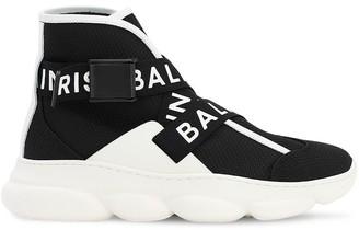 Balmain Mesh Sneakers