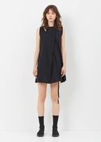 Ann Demeulemeester paige black tank dress