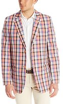 Stacy Adams Men's Country Plaid Two Button Sport Coat