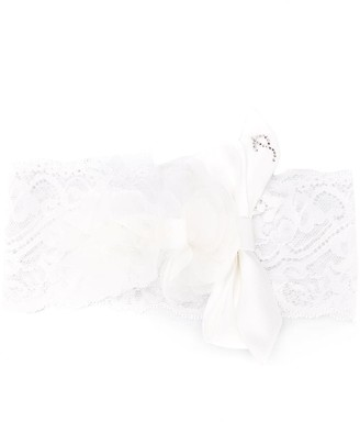 Petit Lace Bow Detail Hairband