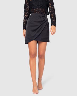 Pilgrim Women's Black Mini skirts - Calista Skirt - Size One Size, 6 at The Iconic