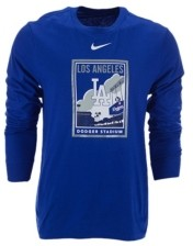 Nike Men's Los Angeles Dodgers Iconography Long-Sleeve T-Shirt