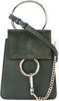Chloé Green Mini Faye Shoulder Bag