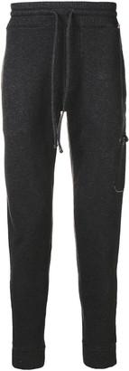 MC2 Saint Barth Black Double Knit Jogger