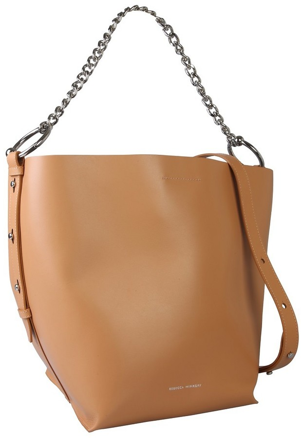 Thumbnail for your product : Rebecca Minkoff Leather Shopping Bag