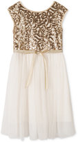 Speechless Sequined Tulle Dress, Toddler Girls (2T-4T) & Little Girls (2-6X)