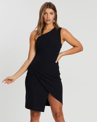 Atmos & Here Amber One-Shoulder Mini Dress