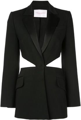 Carolina Herrera cut-out single-breasted blazer