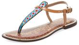 Sam Edelman Gigi Chevron Leather Sandal