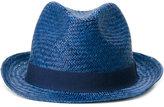 Hackett straw hat - men - Straw - L