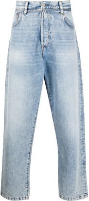 Acne Studios Belted Loose-Fit Jeans