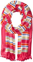 MICHAEL Michael Kors Madison Stripe Oblong Scarves