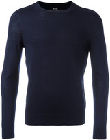 A.P.C. crew-neck jumper - men - Silk/Merino - S