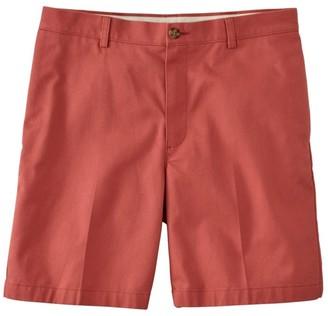 """L.L. Bean L.L.Bean Men's Double LA Chino Shorts, Classic Fit Plain Front 8"""" Inseam"""
