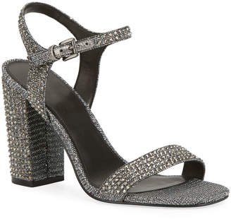 MICHAEL Michael Kors Francine Glitter Studded Sandals