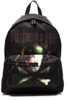 Givenchy Army Skull Print Backpack