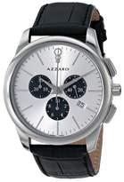 Azzaro Men's AZ2040.13SB.000 Legend Analog Display Swiss Quartz Black Watch