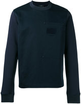 Joseph Patch pocket sweatshirt - men - Cotton/Linen/Flax - S