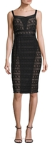 Tracy Reese Sleeveless Lace Sheath Dress