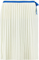 See by Chloe Pleated jersey skirt