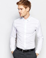 Selected Shirt with Stretch in Skinny Fit