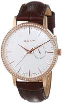 Gant Park Hill II Mid Stones Analogue Quartz Leather Women Quartz Watch with W109217