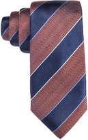 Tasso Elba Men's Core Navy Stripe Tie, Only at Macy's