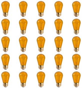 Bulbrite Industries 11 Watt, S14 Incandescent, Dimmable Light Bulb, E26/Medium (Standard) Base Industries