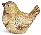 Judith Leiber 'Goldfinch' crystal pavé bird minaudière