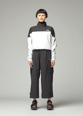 The North Face Black Women's Sateen Funnel Top in White/Black Size Medium